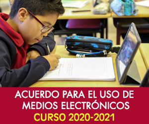 Acuerdo para el uso de medios electrónicos 2020-2021