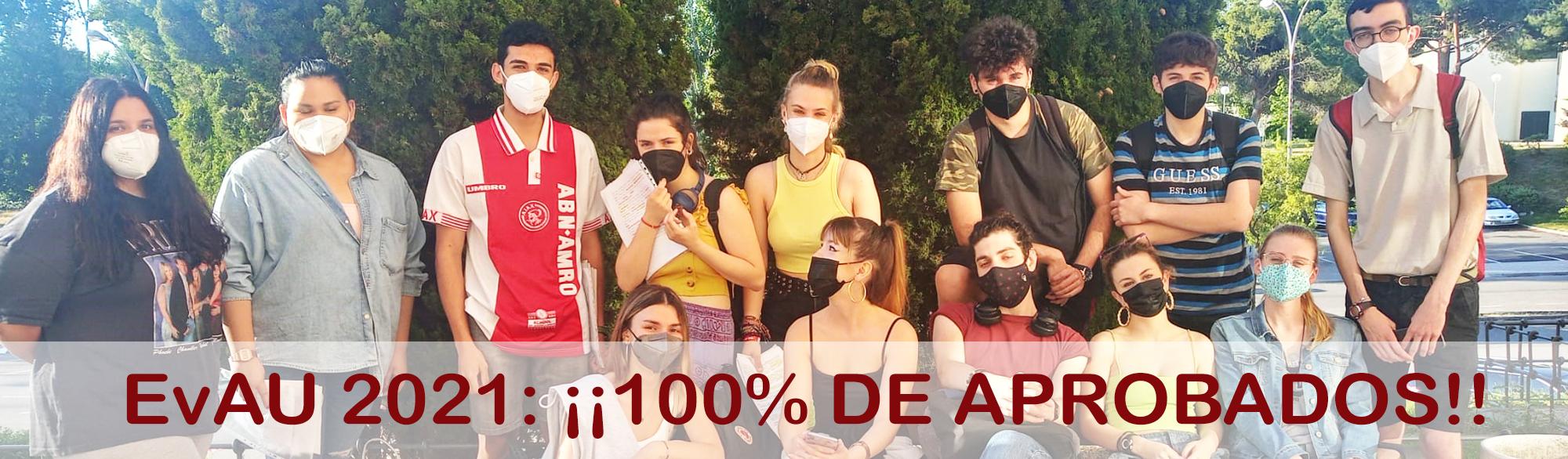 EvAU 2021 Bachillerato El Porvenir