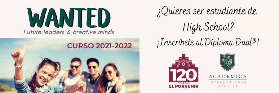Bachillerato Dual Americano 2021-2022 El Porvenir