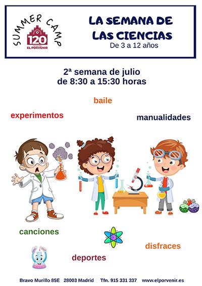 Campamento de verano colegio El Porvenir