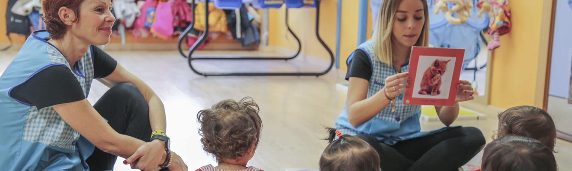 Estimulación temprana bits de inteligencia Escuela Infantil