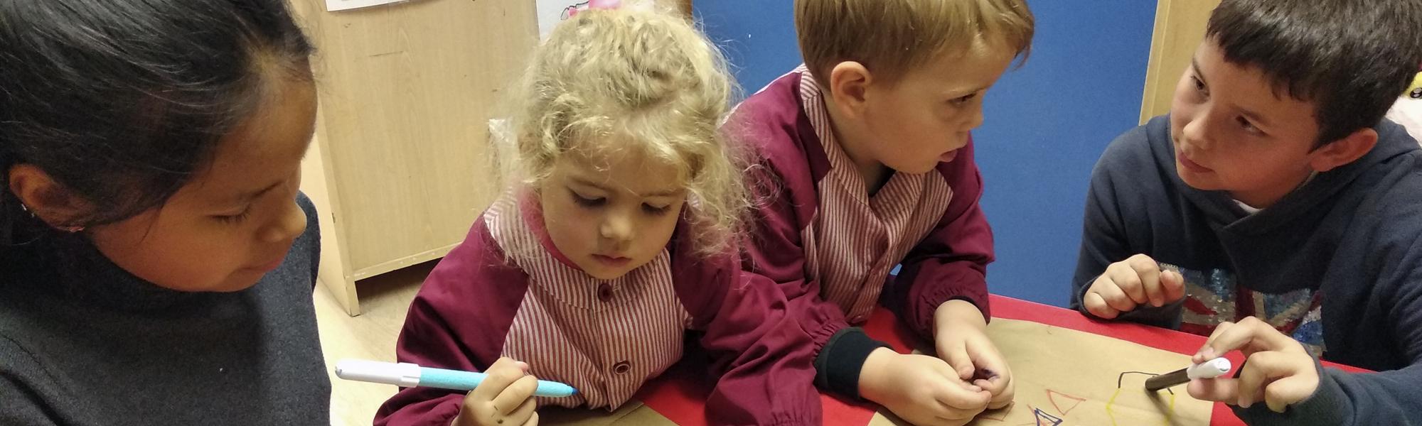 Programa Juntos aprendemos y nos divertimos en Educación Infantil El Porvenir