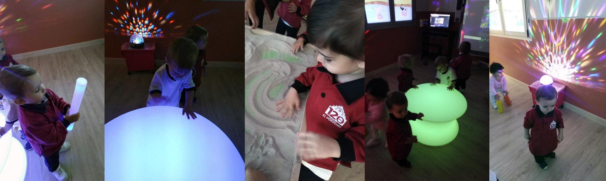 Aula Multisensorial Escuela Infantil El Porvenir