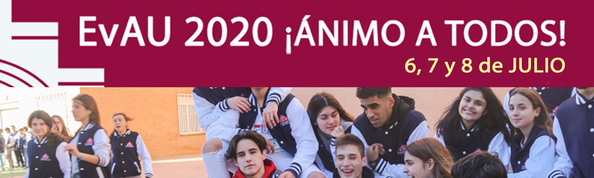 EvAU 2020 Bachillerato El Porvenir