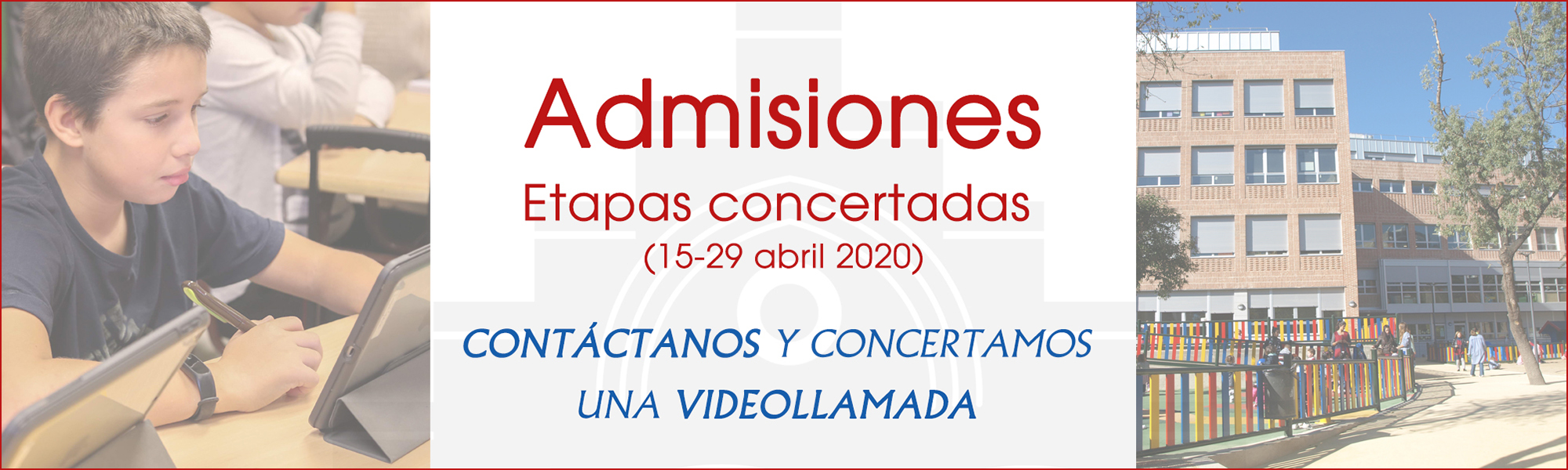 Admisiones etapas concertadas curso 2020-2021