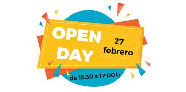 Open Day colegio El Porvenir 27 de febrero