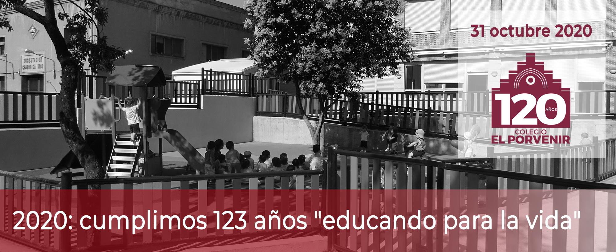 123 Aniversario colegio El Porvenir 31 octubre 2020