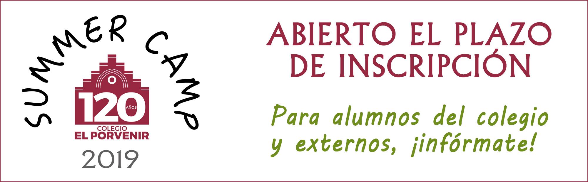 Summer Camp 2019 colegio El Porvenir