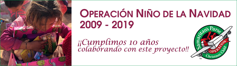 Operación Niño de la Navidad 2019