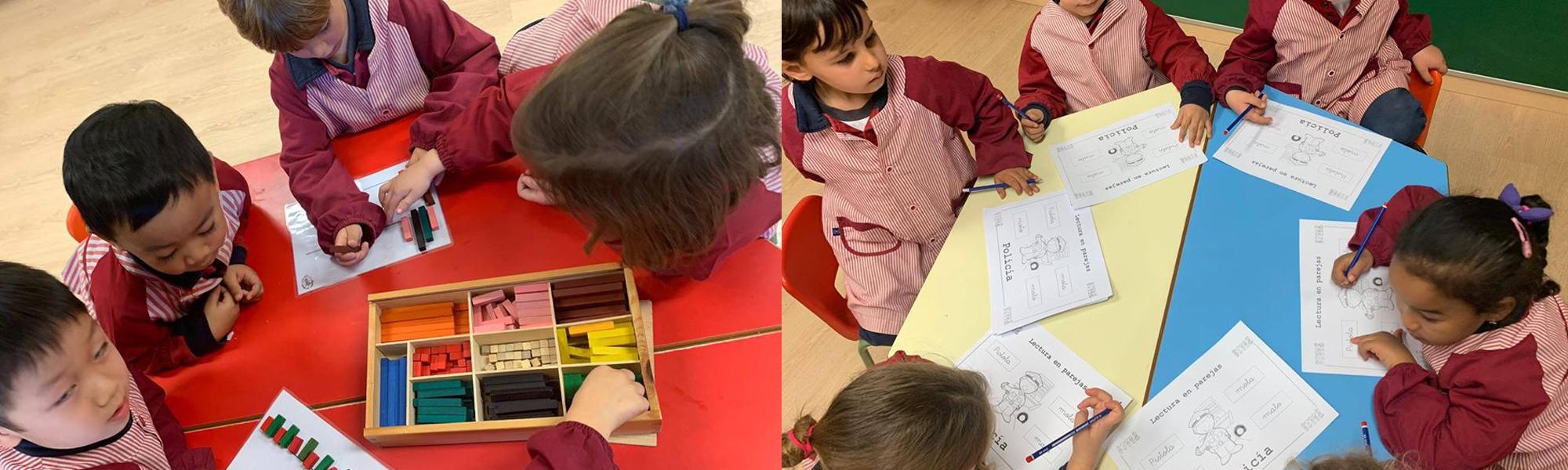 Aprendizaje cooperativo colegio El Porvenir