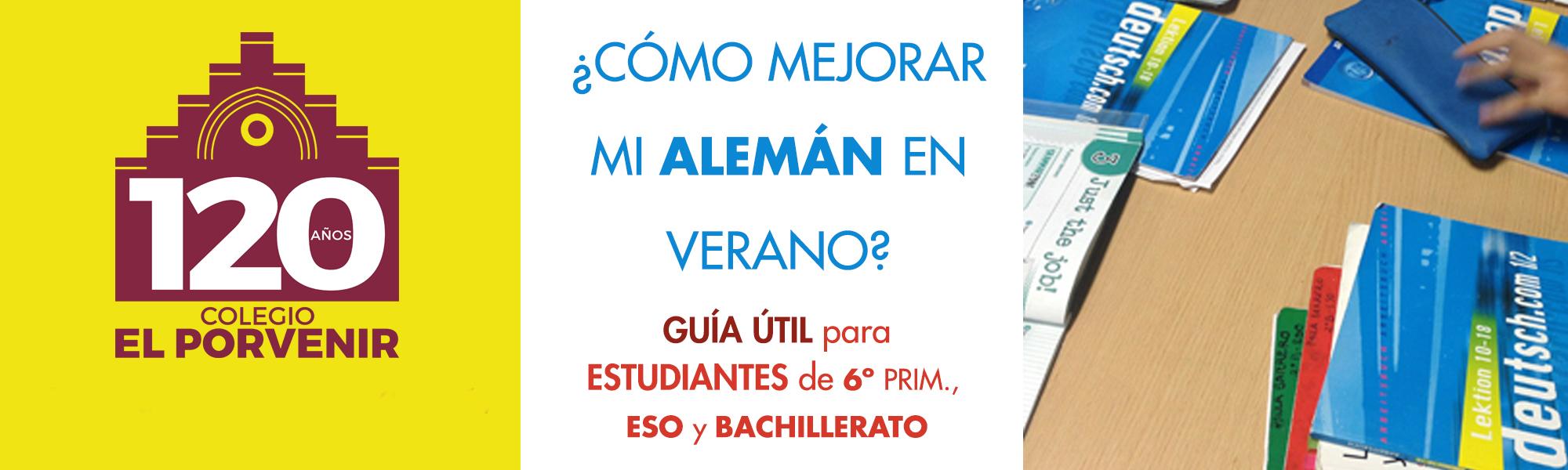 Guía útil para estudiantes de Alemán Primaria, Secundaria o ESO y Bachillerato