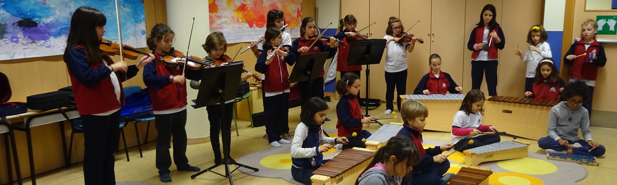 Programa de música colegio El Porvenir