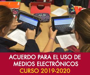 Acuerdo para el uso de medios electrónicos 2019-2020