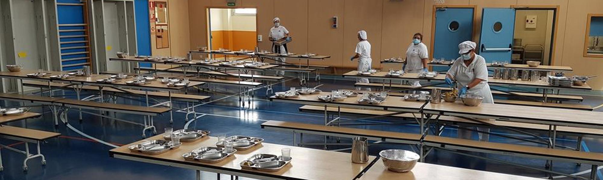Servicio de Comedor Escolar colegio El Porvenir