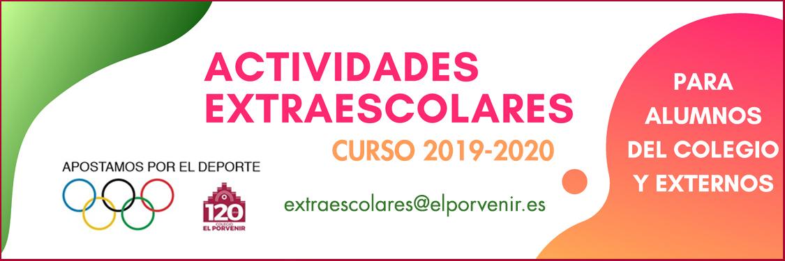 Actividades Extraescolares curso 2019-2020 El Porvenir