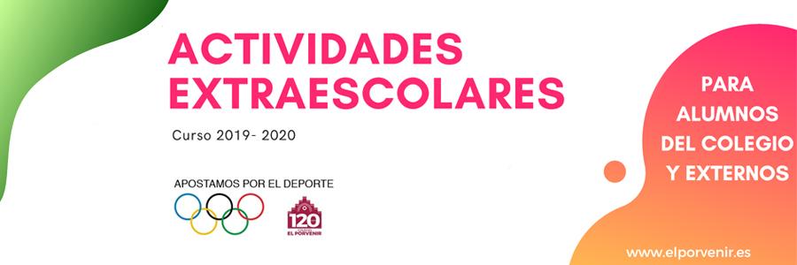 Actividades Extraescolares El Porvenir 2019-2020