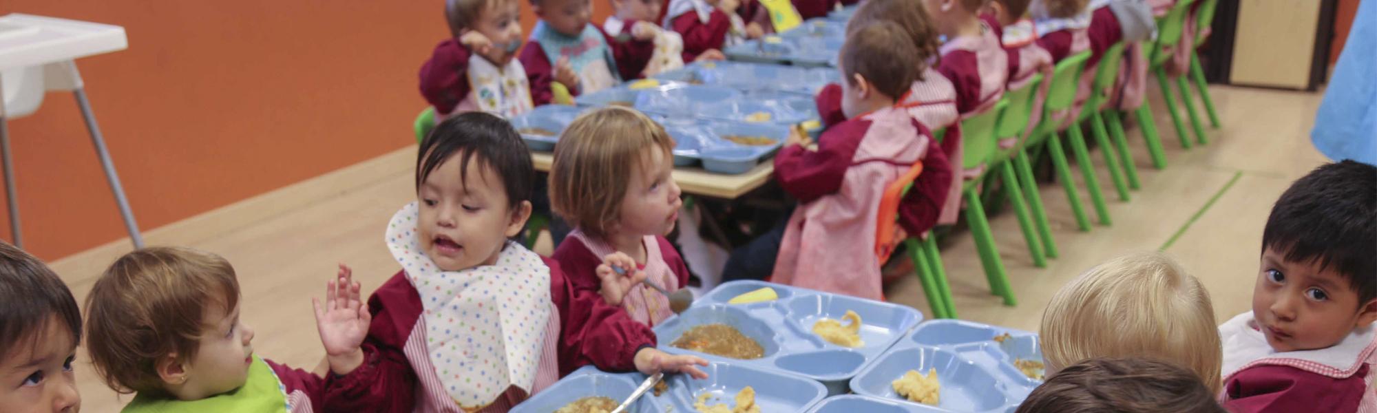 Servicio de comedor Escuela Infantil El Porvenir