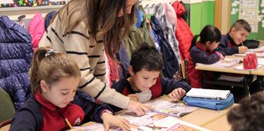 Programa de Educación Bilingüe en inglés colegio El Porvenir