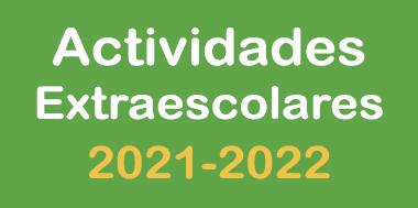 Propuesta de actividades extraescolares para el curso 2021-2022