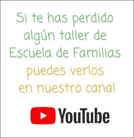 Escuela de Familias online en YouTube