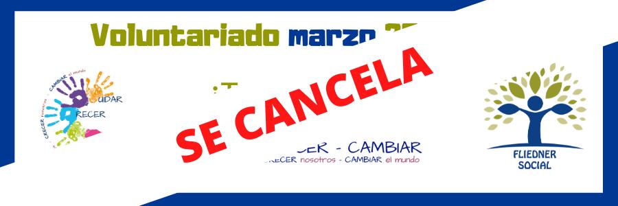 Canceladas las actividades del Voluntariado marzo 2020