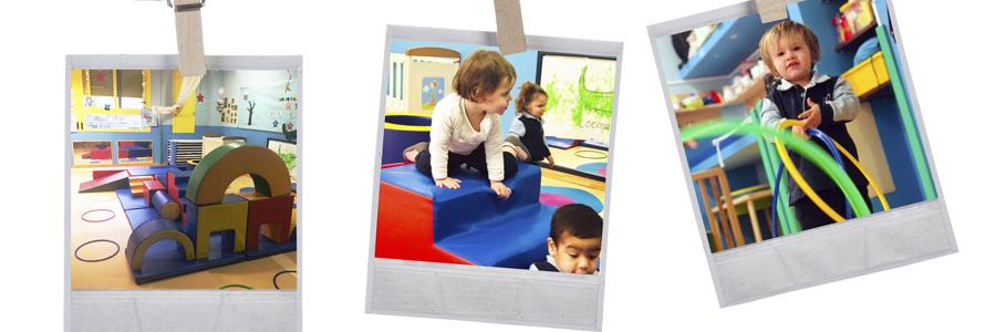 Estimulación corporal y desarrollo motor Escuela Infantil Juan de Valdés