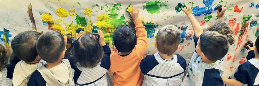 Aprendo y me divierto en la Escuela Infantil Juan de Valdés