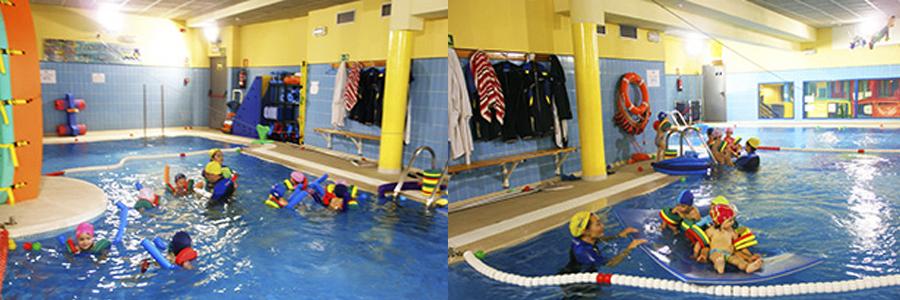 Actividad complementaria Natación colegio Juan de Valdés
