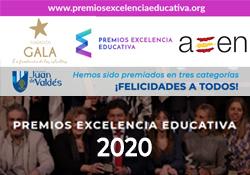 Premios Excelencia Educativa 2020 al colegio Juan de Valdés