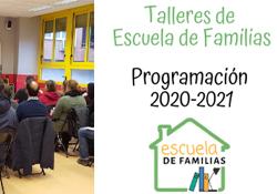 Programa Escuela de Familias 2020-2021