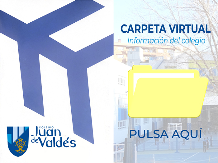 Carpeta virtual del colegio Juan de Valdés