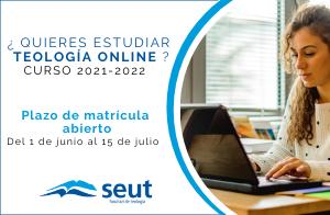 Matrícula Teología SEUT curso 2021-2022