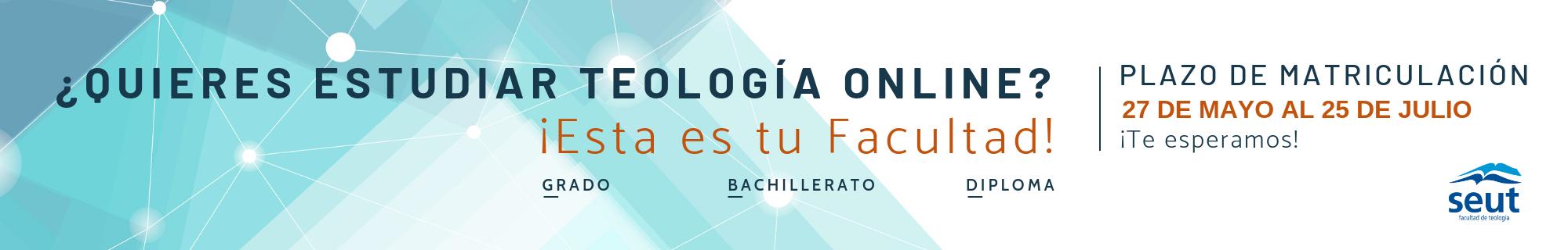 Matrícula curso 2019-2020 Facultad de Teología SEUT