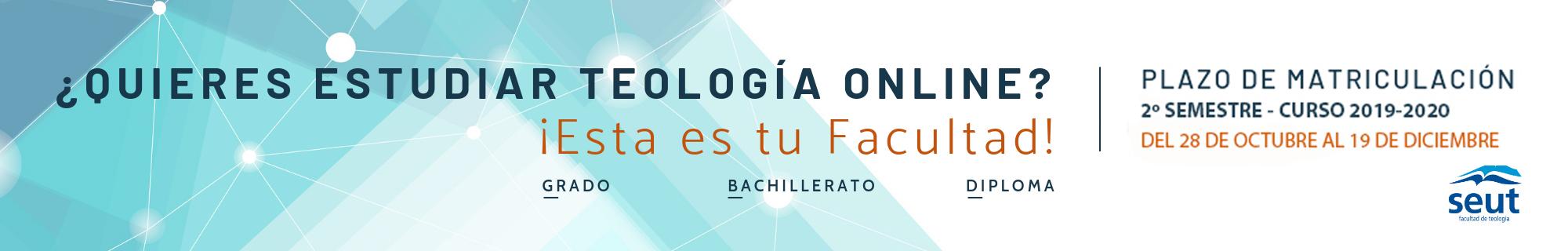 Matriculación Teología Facultad SEUT