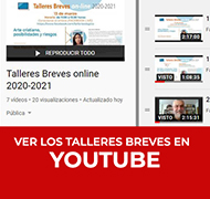 Talleres Breves completos en YouTube
