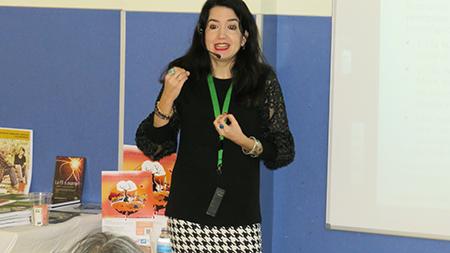 Sara Contreras en el Taller Breve de febrero 2020