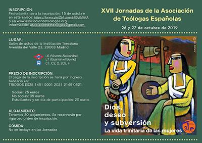 XVII Jornadas de la Asociación de Teólogas Españolas (ATE)