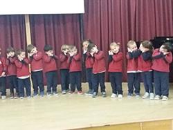 Coro de las Emociones Programa Educación Responsable colegio El Porvenir