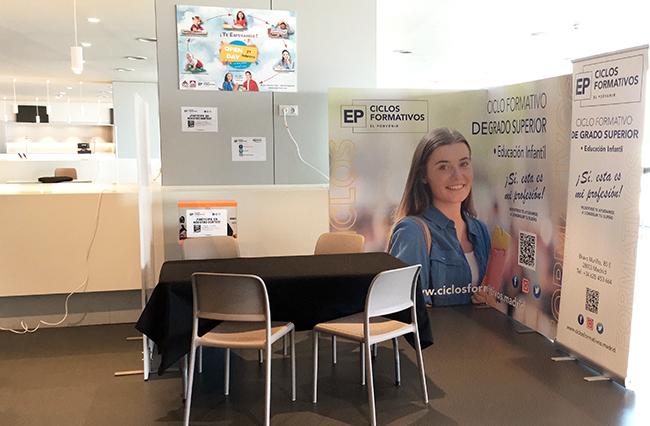 Feria de los colegios 2020 Ciclo Formativo Superior en Educación Infantil El Porvenir