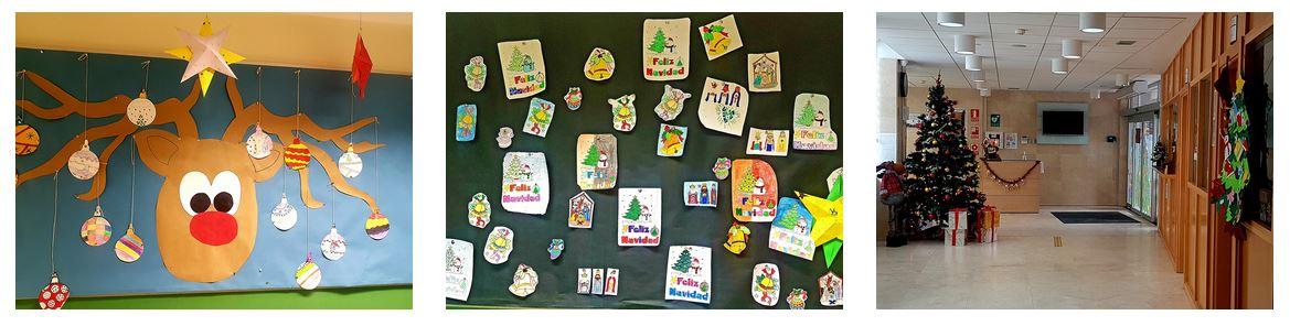 Decoraciones Primaria Navidad El Porvenir