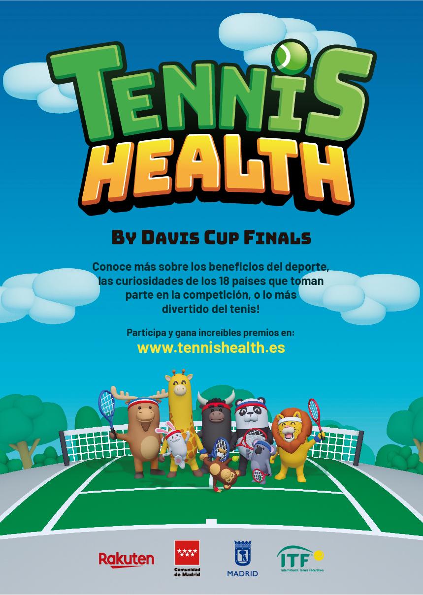 Participación en los Clínics Tennis Health Juan de Valdés