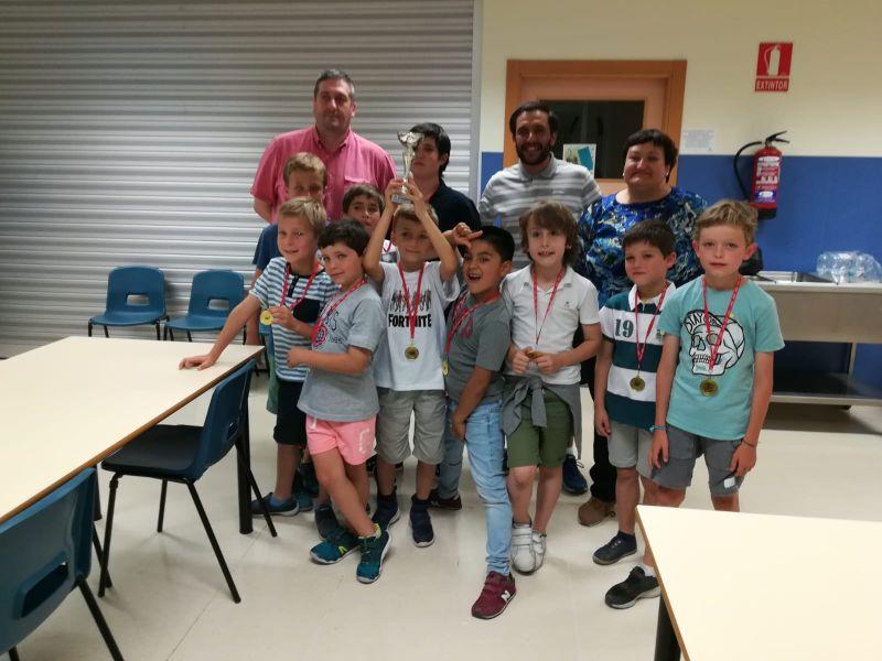 II Encuentro Ajedrez colegio El Porvenir