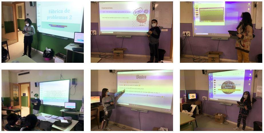 Competencia comunicativa en 4º Primaria Matemáticas