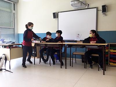 """Actividad Primaria colegio El Porvenir: """"Diálogo de emociones"""""""