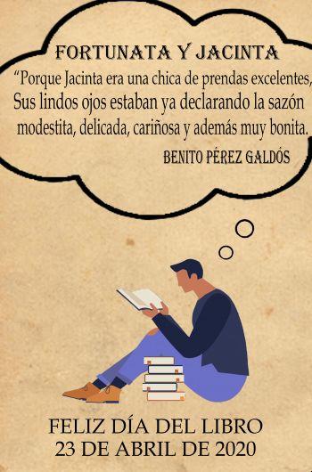 Homenaje a Galdós Día del Libro Secundaria El Porvenir
