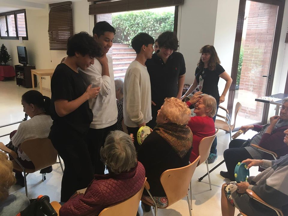 Visita Residencia de Ancianos