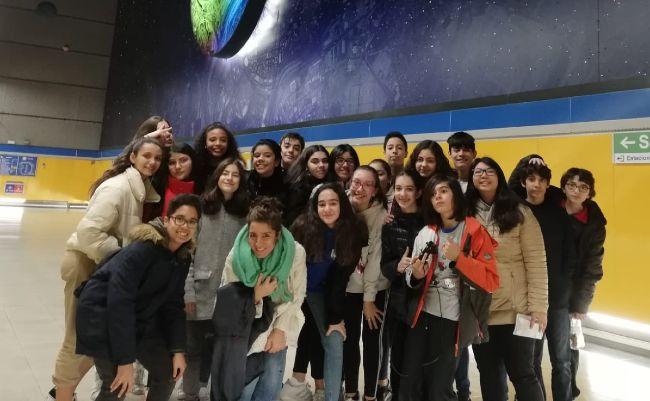 Visita al Planetario 2º ESO El Porvenir