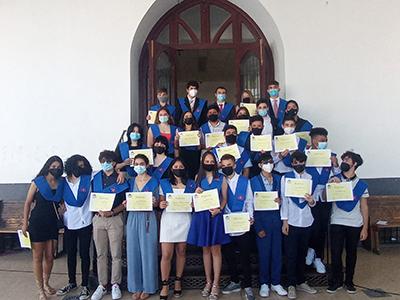 Acto de graduación 4º ESO Secundaria El Porvenir