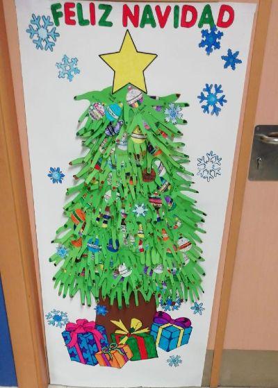 Navidad en la biblioteca escolar