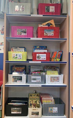 Lecturas de Navidad biblioteca escolar colegio El Porvenir